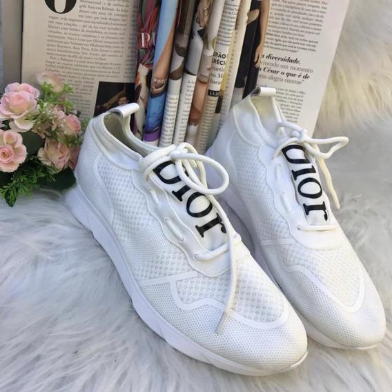 Tênis Dior Homme Branco Masculino Sneaker Lançamento 2019