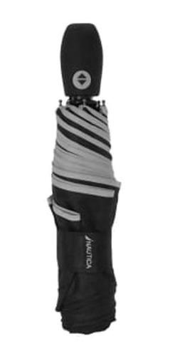 Nautica Paraguas Con Apertura Y Cierre Automático Negro