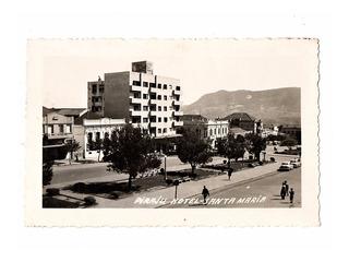 Cartao Postal Hotel Piraju - Santa Maria Rgs - Anos 50