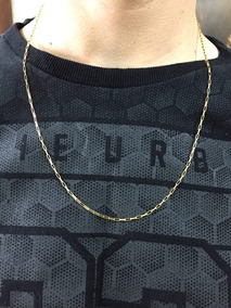 Corrente Cartier Maciça Masculina Ouro 18k- 4,8gr = 23