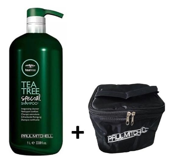 Shampoo Paul Mitchell Tea Tree Special 1000ml + Brinde