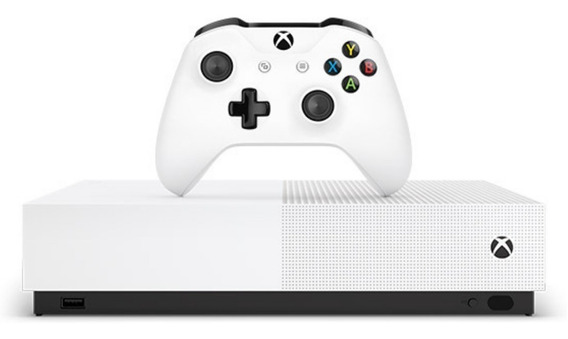 Xbox One S 1tb 4k All Digital Novo Lacrado Pronta Entrega