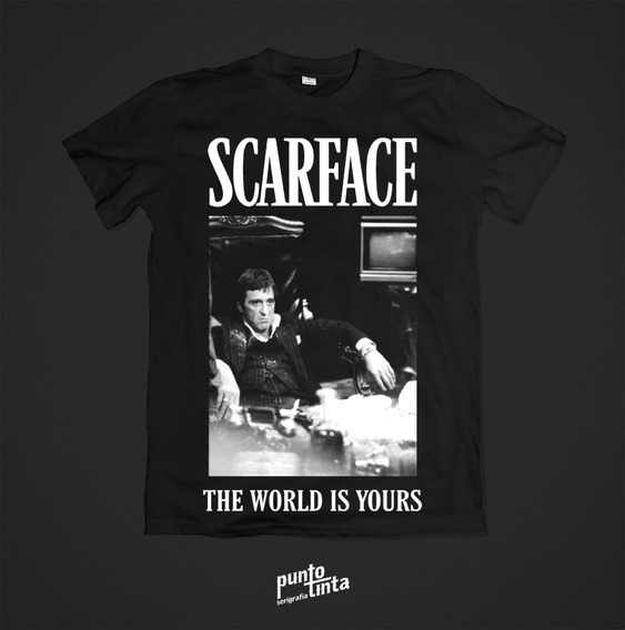 Playera Scarface Tallas M,l Y Xl