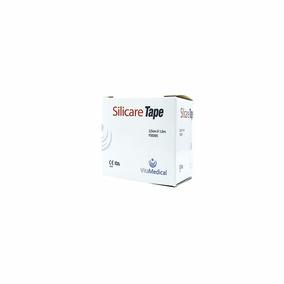 Fita De Silicone Kit 2un Indolor Cicatriz Rolo - 1,5 Metros
