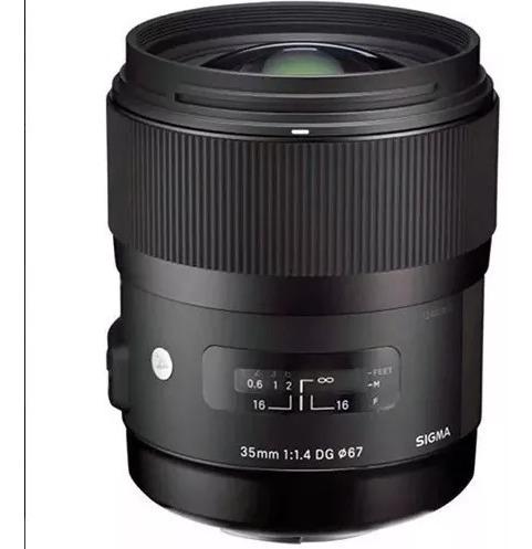 Lente Sigma Art Dg 35mm F/ 1.4 Para Nikon