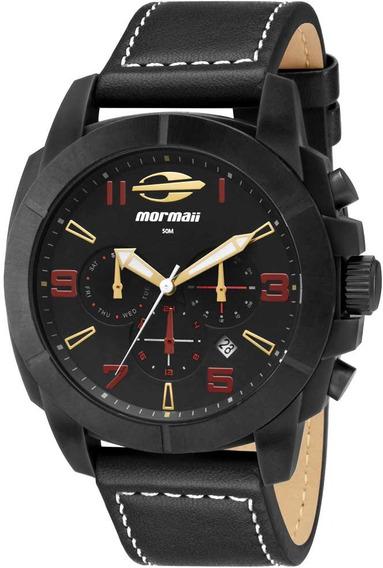 Relógio Masculino Preto Da Mormaii Mojp25ak/2p - Original