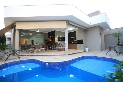 Casa À Venda Condomínio Recanto Do Lago Com 3 Quartos, 2 Vagas - V2802