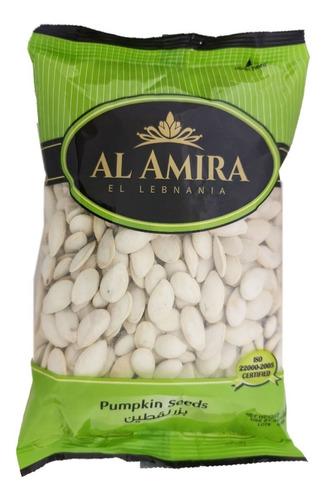 Imagen 1 de 5 de Semillas De Calabaza Al Amira Pumpkin Seeds Tostadas Saladas