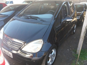 Mercedes-benz Classe A 160 2005 Preta Gasolina