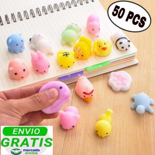 Pack 50 Und Mini Squishy Juguete Anti Estrés Envío Gratis