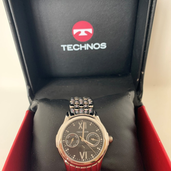 Relógio Technos C/calend Semanal E Mensal/original/ Nf