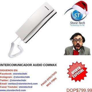Intercomunicador Audio Commax.
