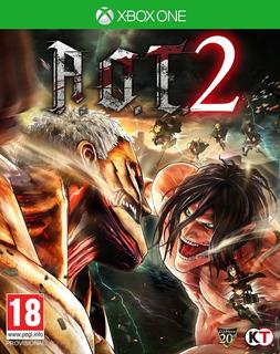 Attack On Titan 2 Xbox One Nuevo Fisico Sellado Envio Gratis