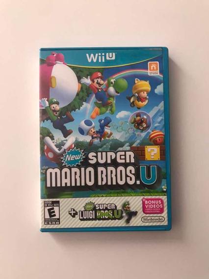 New Super Mario Bros U E Super Luigi Mídia Física Original