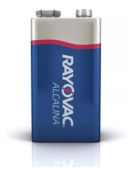 Bateria Rayovac Alcalina 9v Val 2023 / 12 Cartelas = 24 Unid