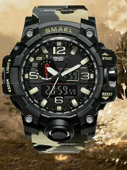 Relógio Masculino Sport Militar Esporte Digital Prova D