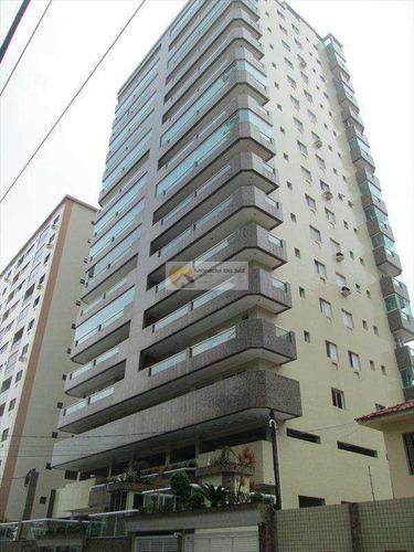 Imagem 1 de 9 de Apartamento Vista Para O Mar Canto Do Forte, A Venda - V3308