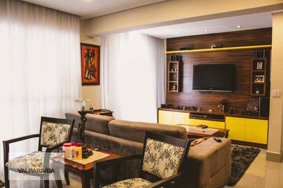 Apartamento Com 3 Dormitórios À Venda, 122 M² Por R$ 0 - Jardim Das Indústrias - São José Dos Campos/sp - Ap0425