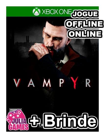 Vampyr Xbox One Midia Digital + 1 Jogo De Brinde