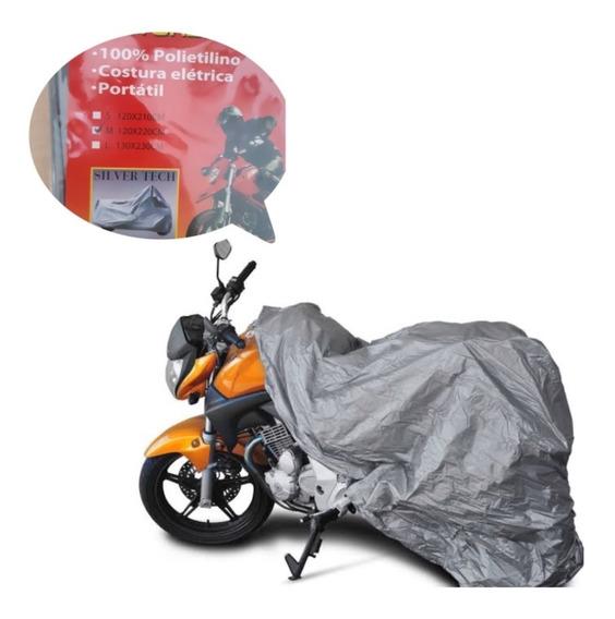 Capa De Chuva Protetora Moto Universal Impermeável Sol