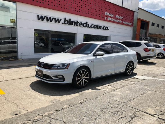 Volkswagen Jetta Gli Blindado 2.0 T At 4x2 Blanco
