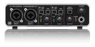 Interfaz De Audio Behringer Umc202 Hd