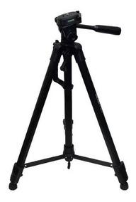 Tripé Telescópico Pedestal Profissional 1,80 Mt Camera Bolsa
