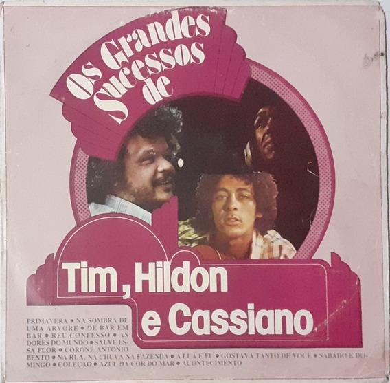 Lp Tim Maia Cassiano Hildon - Os Grandes Sucessos [1981]
