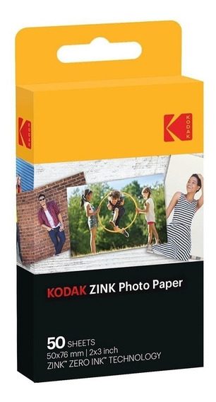 Kit Filme Instantâneo Câmeras Compatíveis Zink Ink 5 Pacotes