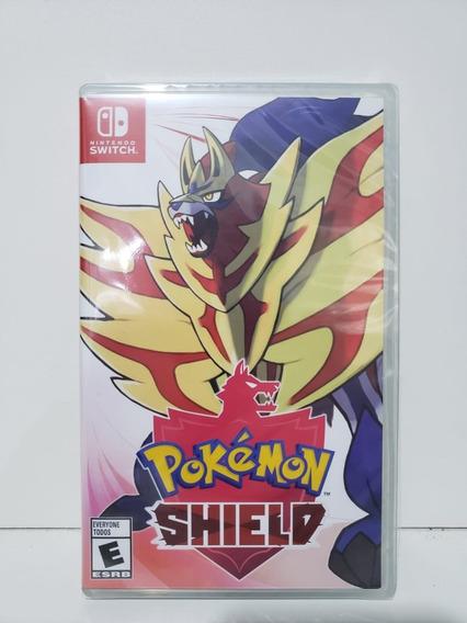 Pokemon Shield Switch Mídia Física Novo Lacrado
