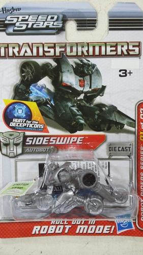 Auto Transformers Speed Stars Sideswipe 1.64 Hasbro