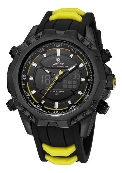 Weide 6406 Dual Display Digital Relógio Calendário Alarme Re