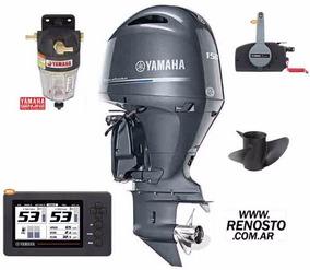 Motor Yamaha 150hp 4 Tiempos Efi 16v Disponible!! Renosto