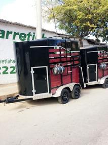Carretas Para Dois Cavalos Trailer Reboque