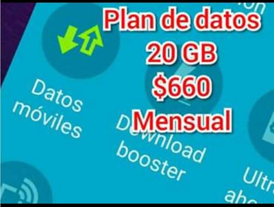 Internet. Plan De Datos 20 Gigas