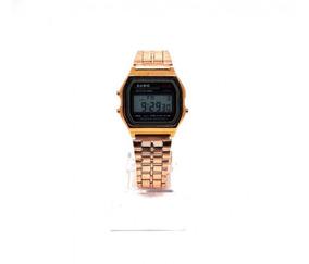 Relógio Digital Casio Bronze Promoção Imperdível