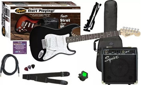 Combo Guitarra Electrica Squier By Fender Sp10