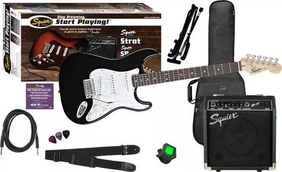 Combo Guitarra Electrica Squier By Fender Sp10