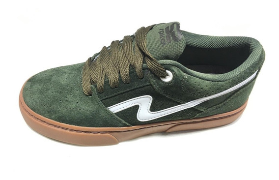 Zapatillas Urbanas/skater Spiral Shoes Pow 2020 Verde