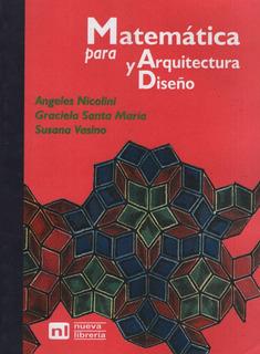 Matematica Para Arquitectura Y Diseño