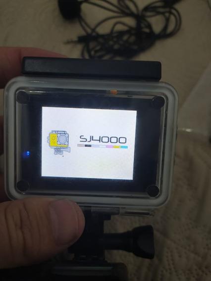 Action Cam Sj4000 S/wifi Com Vários Acessorios