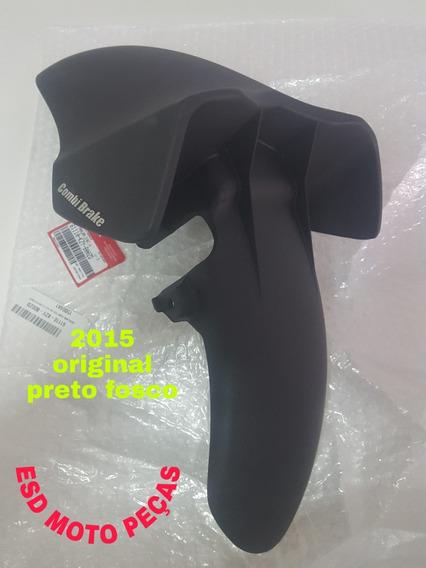 Para-lama Honda Pcx150 2015 Preto Fosco Novo Original S/uso