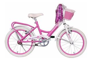 Bicicleta Nena Sasha Paseo Rodado 16 Canasto Paquete