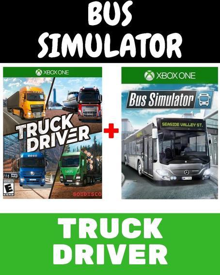 Bus Simulator + Truck Driver Xbox One + 1 Jogo De Brinde