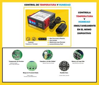 Control Automático De Temperatura Y Humedad Usos Varios 110v