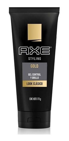 Axe Styling Gold Gel Control Y Brillo Look Clasico 170 G
