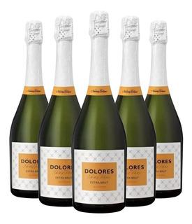Champagne Dolores De Navarro Correas Extra Brut 750m Caja X6
