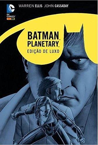 Hq - Batman. Planetary. Noite Sobre A Terra - Edição De Luxo