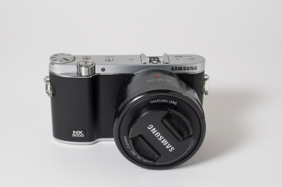 Câmera Mirrorless Samsung Nx3000 Com Lente 16-50mm