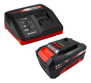 Kit Bateria 18v 3.0 Ah + Carregador Bivolt 4512077 Einhell